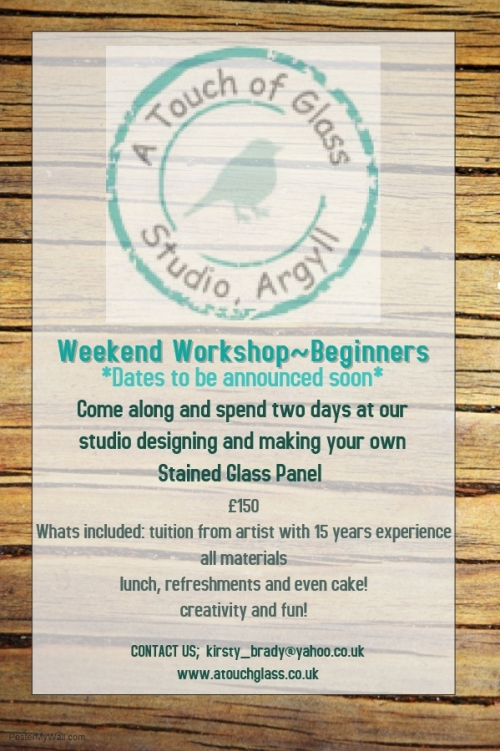 Beginners Workshop Stained Glass