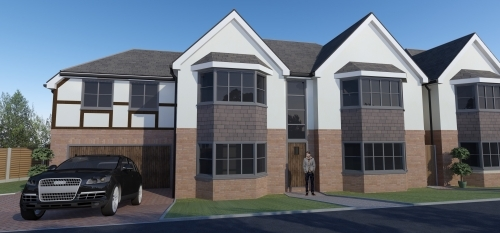 Manor Drive Project Sutton Coldfield - 4 new build luxury homes