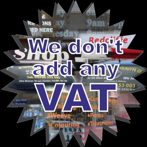 NO VAT!!