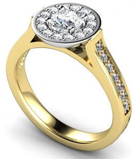 Multistone Diamond Rings