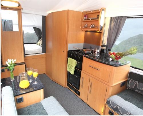 Luxury Folding Camper Hire