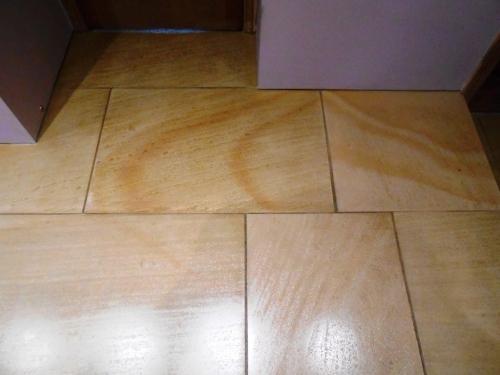 Milled Sandstone Floor Lancaster After