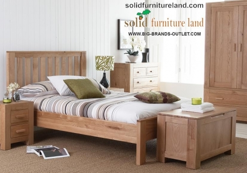 Nantes Oak bedroom range