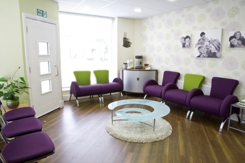 Reception At Briercliffe Road Dentists
