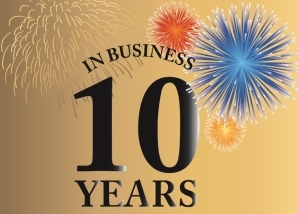 10years in Business