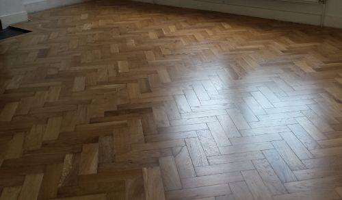 Parquet Floor Sanding and Finishing