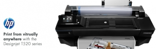 HP T520 Designjet Printer Series 1st Call 4 Service Ltd Birmingham West Midlands UK