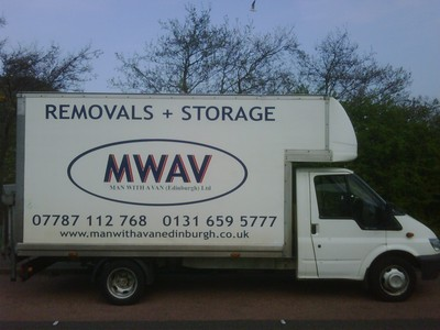 MWAV Luton Van. Man with a van Edinburgh Ltd.