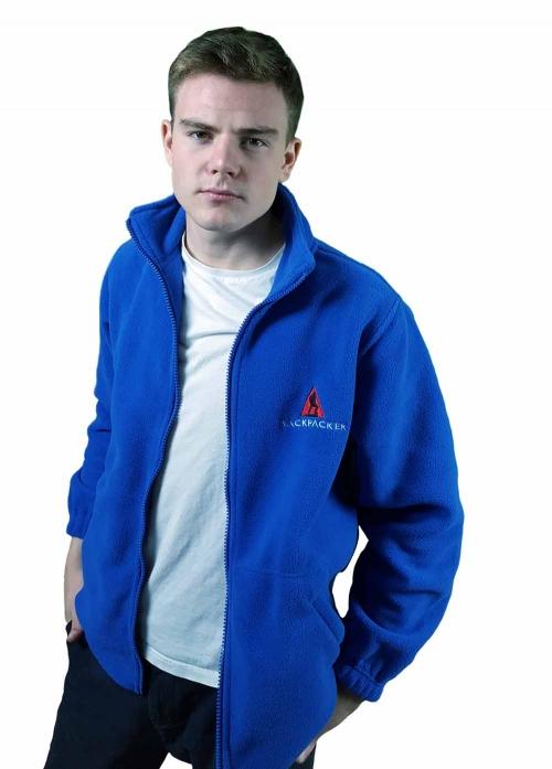 Backpacker Full Zip Micro Fleece Jacket
