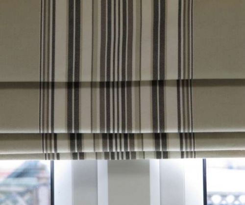 Roman Blind Using Romo Fabric