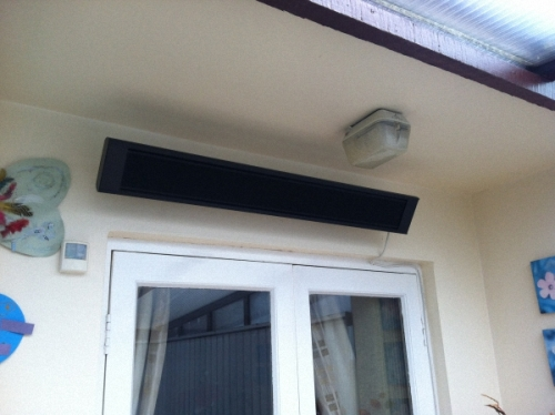 Infrared Terrace Heater