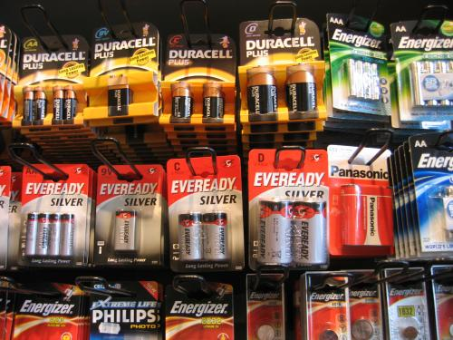 We sell a wide variety of batteries