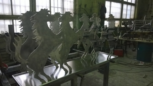 Stainless Steel Bar Table For Horse Stable bar Room