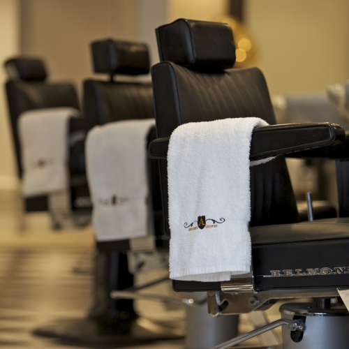 Traditional barber chairs