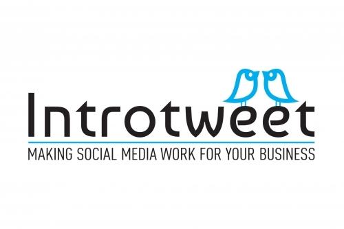 Introtweet Social Media Expert Logo Design