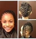 Corn Row styled up