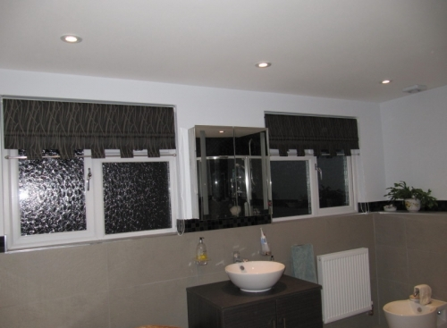 Made to measure bathroom blinds in Findon