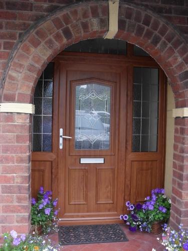 Oak Doors: Upvc Light Oak Doors