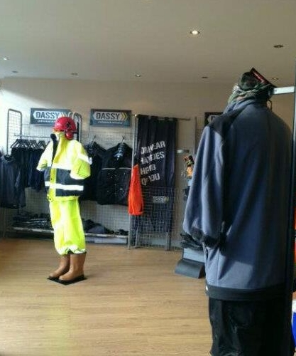 V4G Workwear Showroom