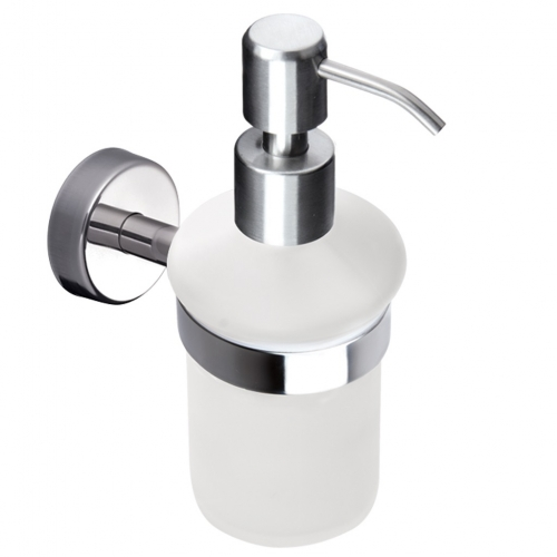 Kapitan Wall Mounted Soap Dispenser with Holder