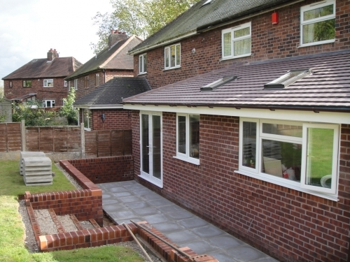 single storey extension builders