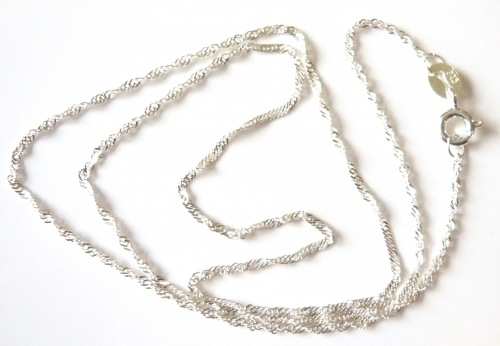 1 2mm 16 Inch Singapore Chain