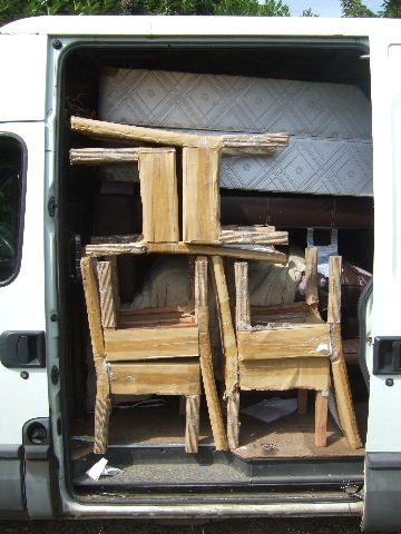 12 Cu Mtr Van Side Load View