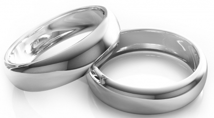 The Perfect Platinum Wedding Band Set