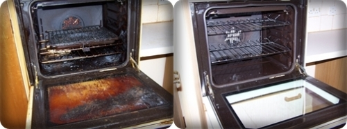 Oven Before After