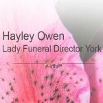 Hayley Owen Funeral Director
