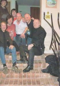 Martin Chambers (Pretenders) & Verdan Allen (Mott the Hoople) lending support to a local band
