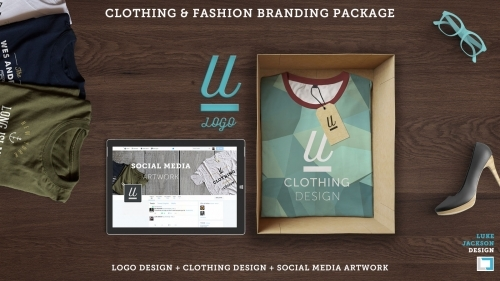 Clothing Fashion Brand Package