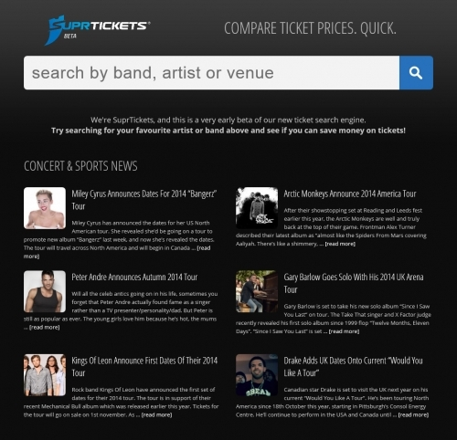 Website: SuprTickets.com