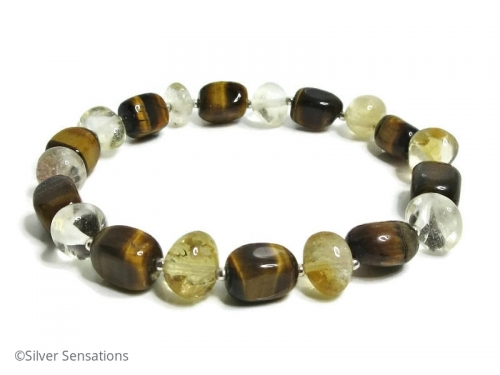 Tiger's Eye Citrine Bracelet