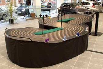 8 Lane Scalextric