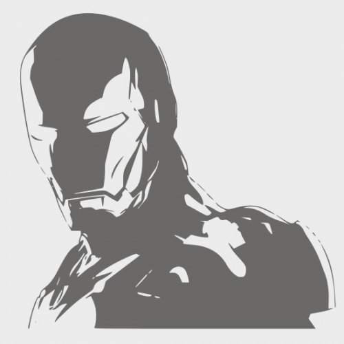 Ironman Wall Sticker Vinyl Decal Wall Art