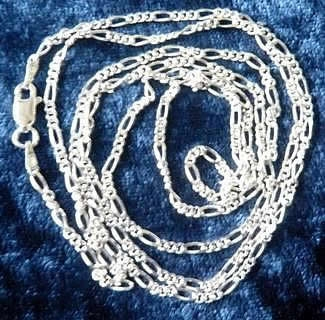 2mm 32 Inch Figaro Chain Dc