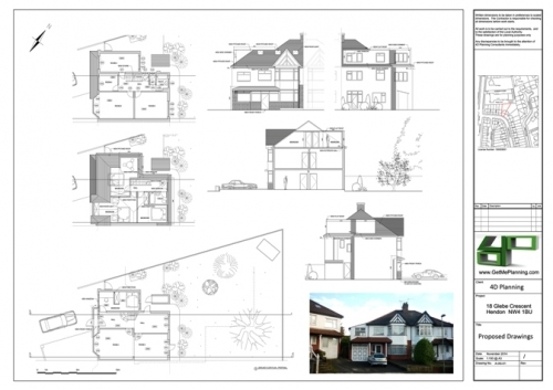 Double Storey Rear Extension Garage Conversion Roof Extension