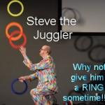 Steve the Juggler aka JugglingWorld