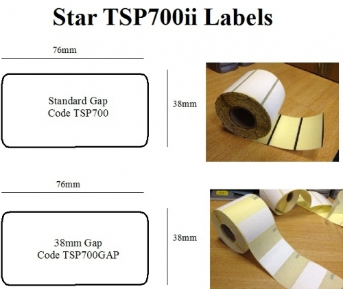 The Stationery Group Star Tsp 700ii Labels