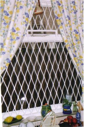 For those windows and doors that need Fixed Mesh Grills - we fit to size FREE advice