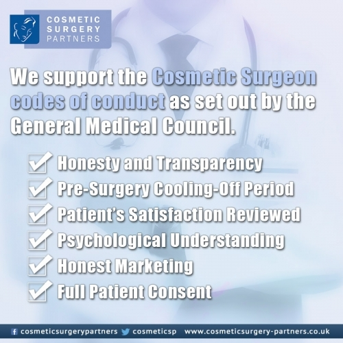 We promise to deliver all patients at Cosmetic Surgery Partners professional, honest and friendly service