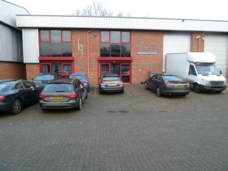 Unit 6 Chartergate Northampton. Warehouse and Office to rent. £26500 per annum/May sell