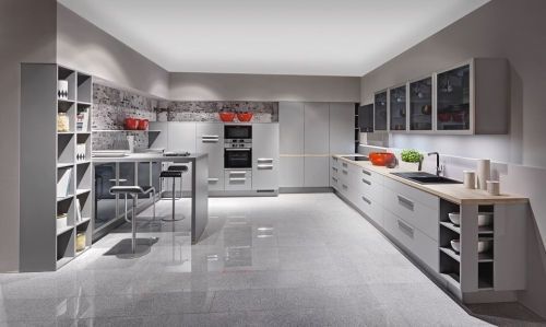 Modern German Kitchen Bedford