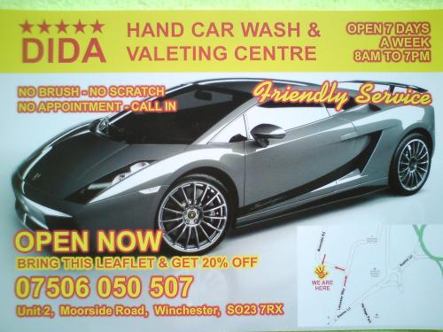 Dida Hand Car Wash Valeting Center Southampton