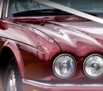 Jaguar Xj Burgundy Front 1