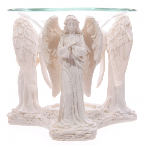 Angel Praying Oil Burner H10x W12xd11cm