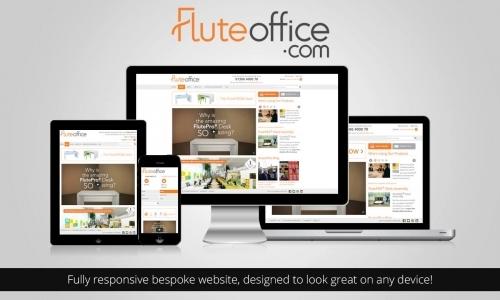 Fluteoffice Responsive Web Design