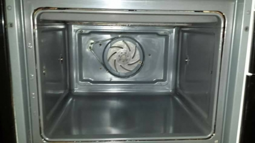 Fan Assisted Oven Cleaning