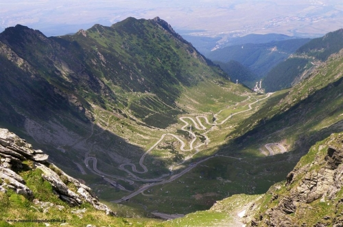 Romania - Transfagarasan road (the second highest paved road in Romania after Transalpina)